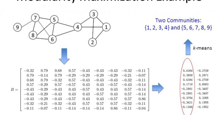 modularity maximization